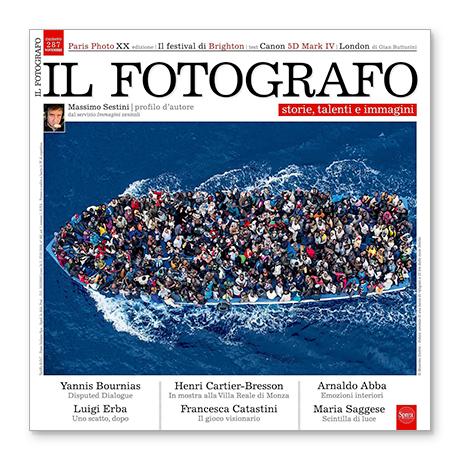 rivista il fotografo massimo sestini