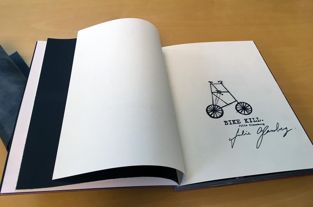 Julie Glassberg bike kill libro storie moticiclisti ceiba edizioni